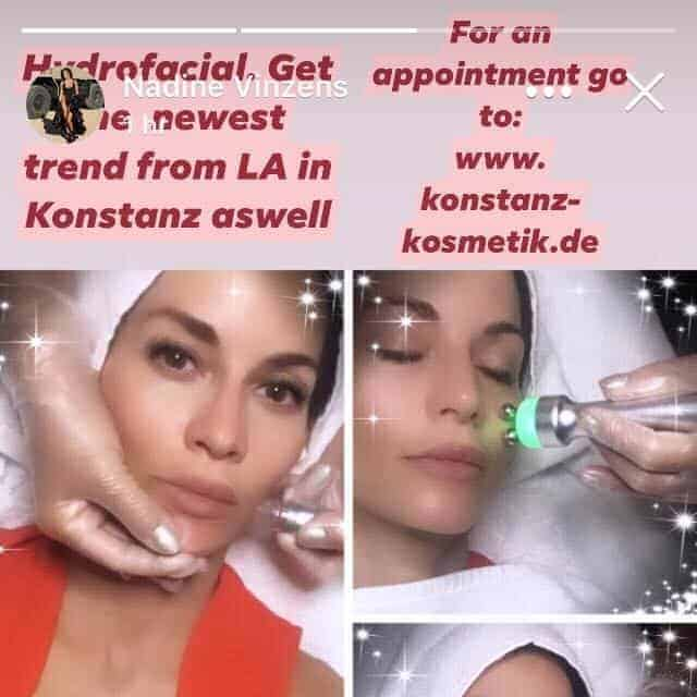 Nadine Vinzenz & Konstanz Kosmetik Maria Eckert